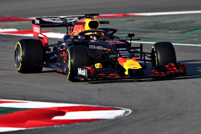 Verstappen (Redbull) tevreden over eerste testdag, Ferrari met topdag