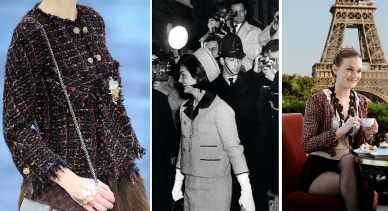 Vijf iconische ontwerpen die Lagerfeld opnieuw tot leven bracht