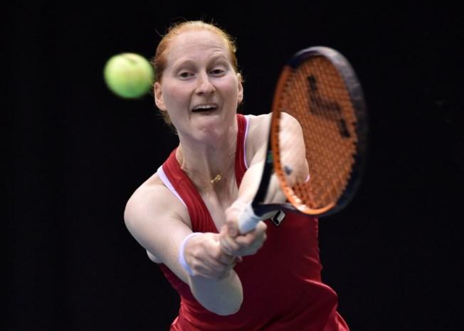 Alison Van Uytvanck staat in tweede ronde WTA Boedapest