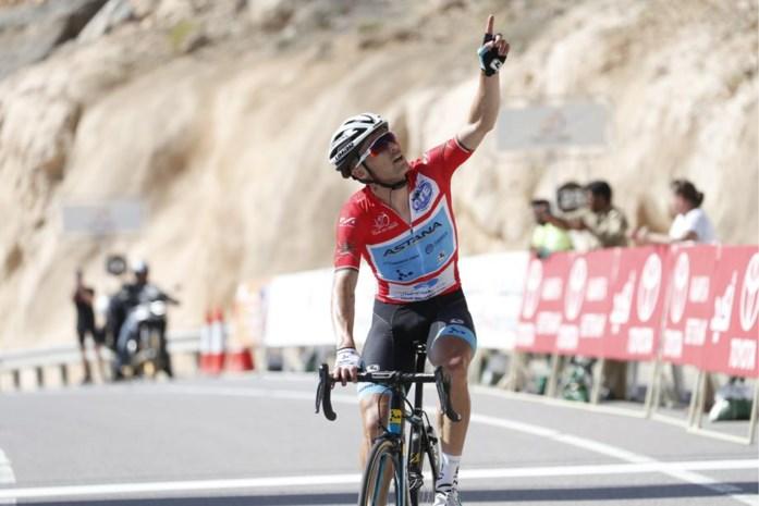 Derde ritzege Lutsenko in Ronde van Oman: Kazak draagt zege op aan overleden zoontjes