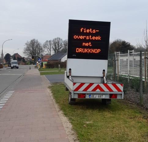 Drukknop moet voetgangers veilige oversteek garanderen