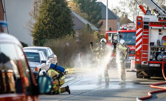 Asbest vrijgekomen bij woningbrand