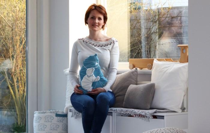 """Mechelse verkoopt eigen babyspulletjes: """"Mijn zoontje Esben was bron van inspiratie"""""""