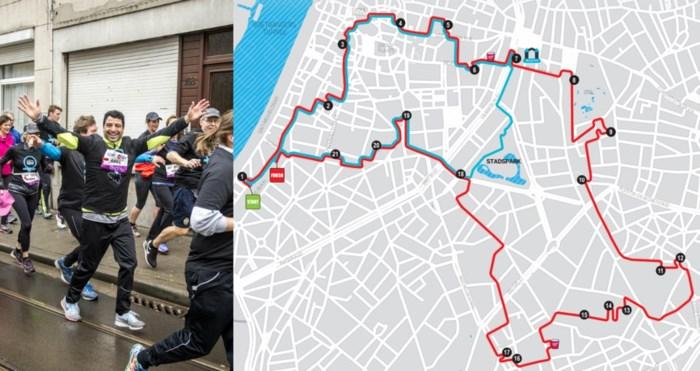 Parcours van Keytrade Bank Urban Trail Antwerp bekendgemaakt