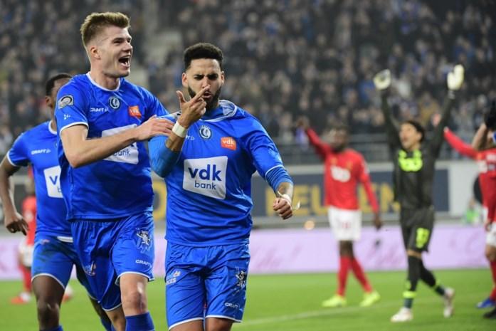 Sterk AA Gent zet Standard opzij en blijft in de running voor Play-off 1