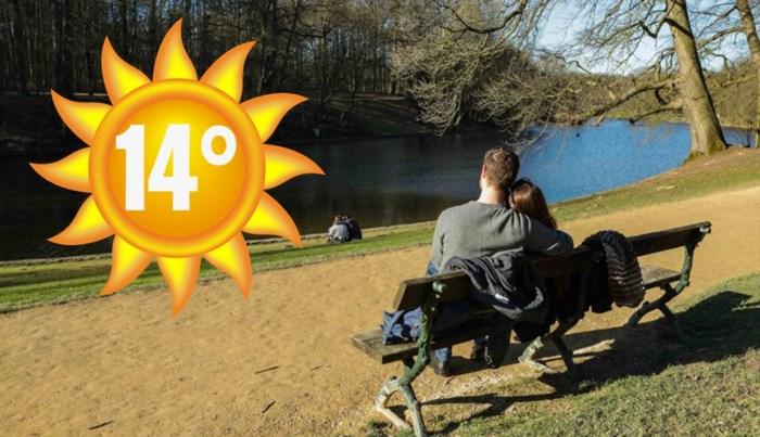 Ook dit weekend wordt zonnig: temperaturen tot 14 graden