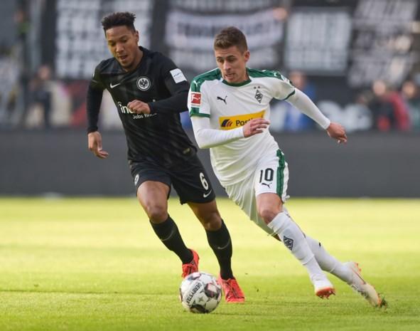 Hazard en Mönchengladbach gaan in eigen huis fors onderuit tegen het Wolfsburg van Casteels