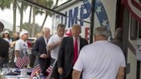 """Witte Huis ontkent ongewenste kus Trump aan campagnemedewerker: """"Absoluut belachelijk"""""""
