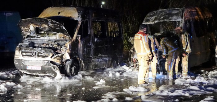 Meerdere verdachten opgepakt  in onderzoek naar brandstichtingen