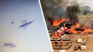 Twee straaljagers crashen tijdens luchtshow