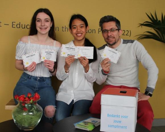 Daltoncampus Het Leerlabo deelt 5.000 complimenten uit