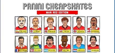 Panini-tekeningen maken van Manchester United mag niet