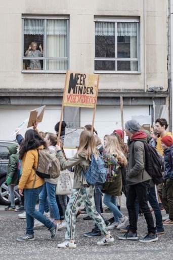 Ook in Mechelen voor het eerst klimaatmars: 1.000 deelnemers op Grote Markt