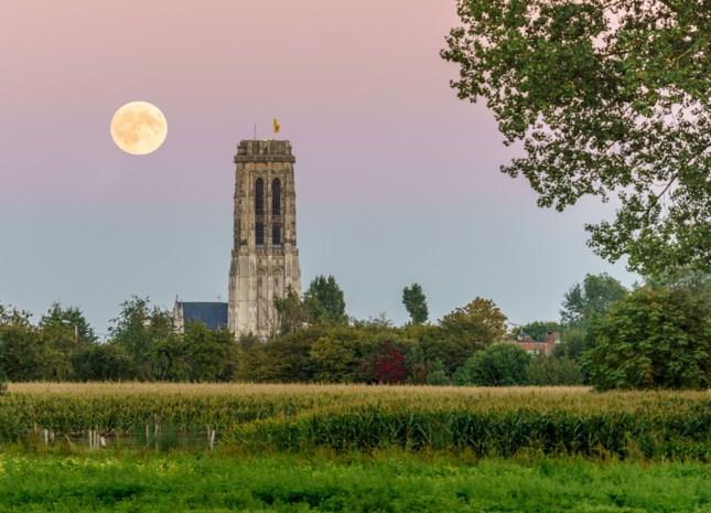 Gratis maanstaren op de Sint-Romboutstoren