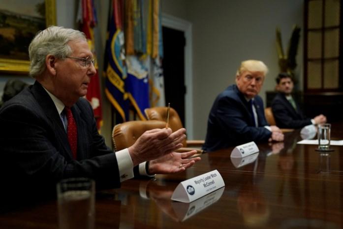 """""""Senaat zal tegen noodtoestand van Trump stemmen"""", volgens Republikeinse fractieleider"""