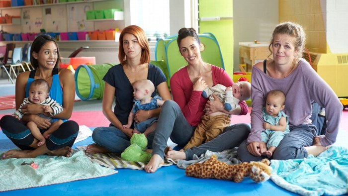 Onze Netflix bingetip. Hardcore moederschap in 'Workin' Moms'