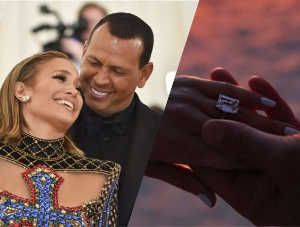 De zeldzame verlovingsring van Jennifer Lopez is miljoenen waard