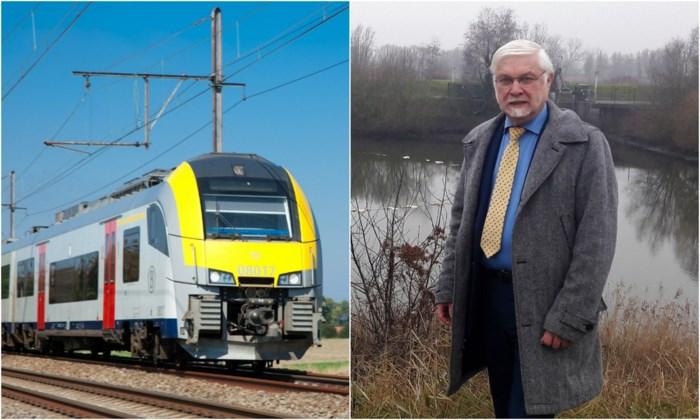 """""""Zonnepanelen boven treinen komen er nooit"""": Infrabel wijst voorstel burgemeester Schelle af"""
