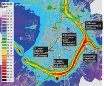 Proefproject voor zuiverdere lucht in vijf scholen, met steun van stadsbestuur