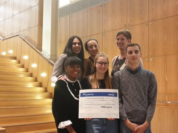 Leerlingen BimSem triomferen in wedstrijd van Europese Centrale bank