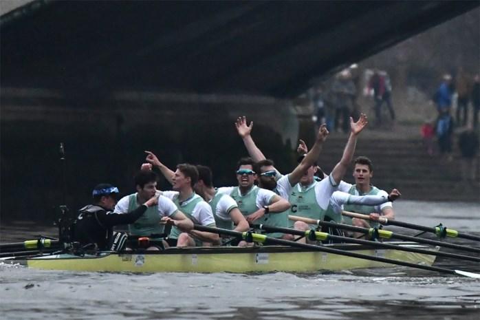 Voor het eerst in de geschiedenis komt een Belg in actie in mythische Boat Race tussen Oxford en Cambridge