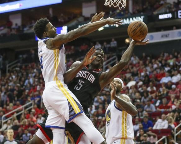 NBA - Golden State Warriors roepen Houston Rockets een halt toe
