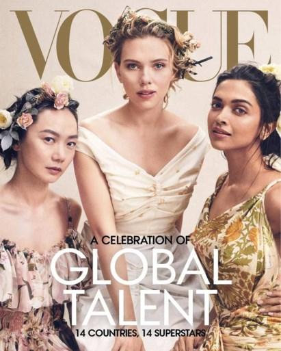 Vogue viert diversiteit met veertien actrices in speciaal nummer, maar krijgt kritiek