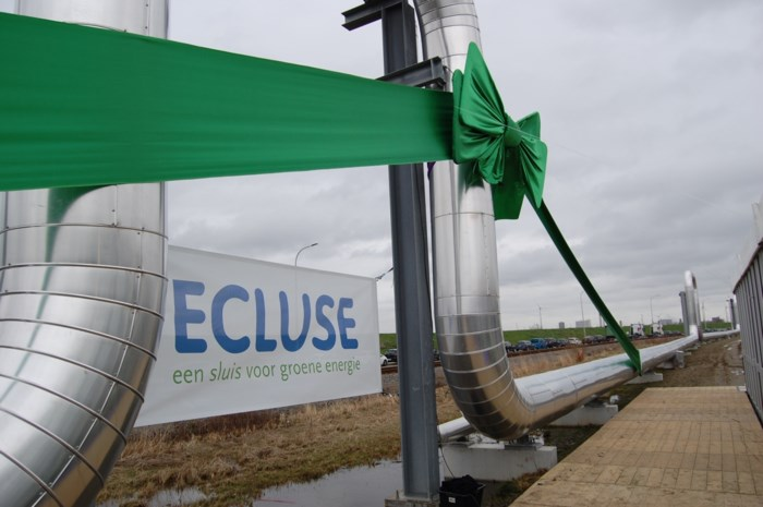 Stoomnet Ecluse geopend in Antwerpse haven