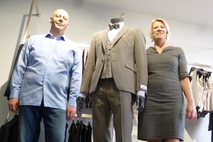 Nieuwe zaak Men Fashion:  voor elke ceremonie wat wils