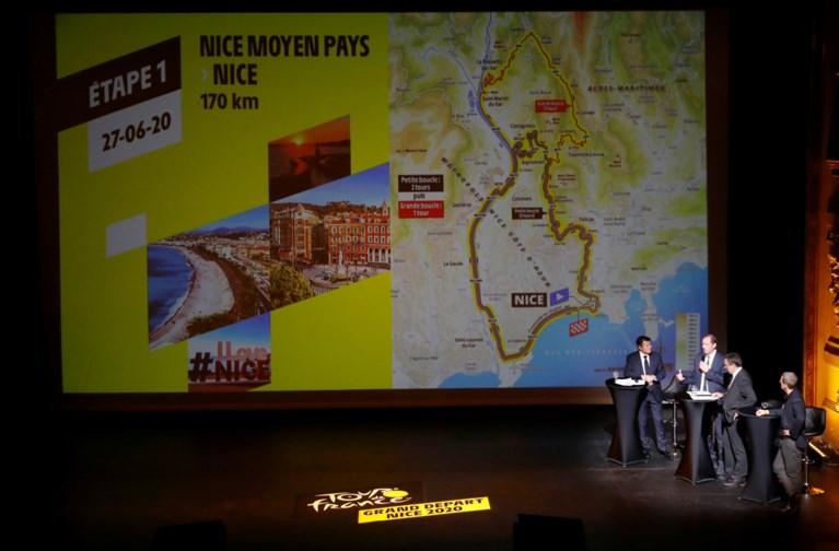 Tourstart 2020 in Nice voorgesteld: renners moeten al in tweede etappe serieus klimmen