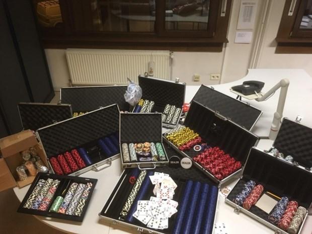 Verdachte van kluizenkraak op Belgiëlei riskeert boete voor illegaal pokertoernooi