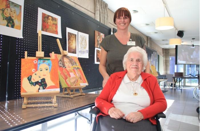 Gustav Klimt inspireert bewoners Vogelzang