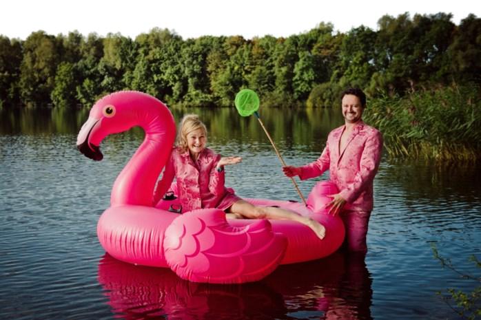 Han Coucke en Griet Dobbelaere vieren hun vriendschap op de planken