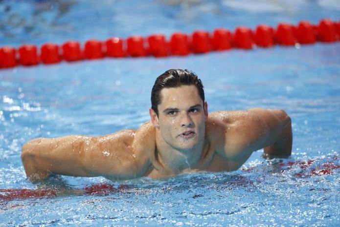Franse zwemsensatie Florent Manaudou duikt na drie jaar opnieuw het zwembad in