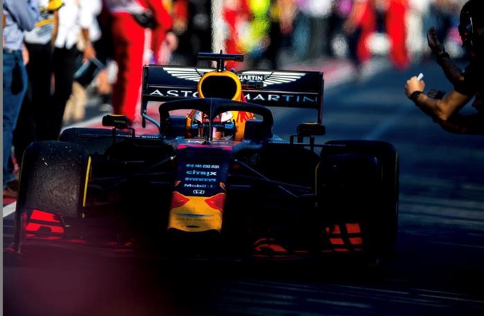 Red Bull F1-team in de wolken met prestaties van Honda-motor