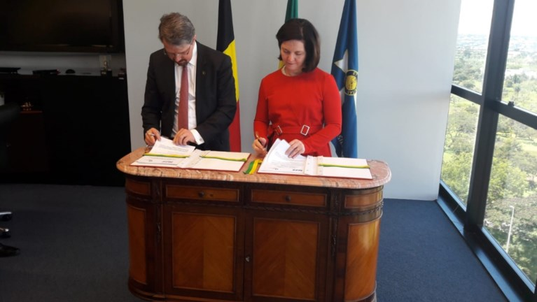 Parket ondertekent samenwerkingsakkoord met Brazilië in de strijd tegen internationale georganiseerde criminaliteit