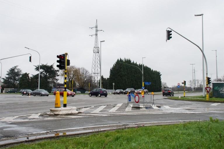Eerste fase van werken nieuwe fly-over aan Antwerpsesteenweg en R6 gaat maandag van start