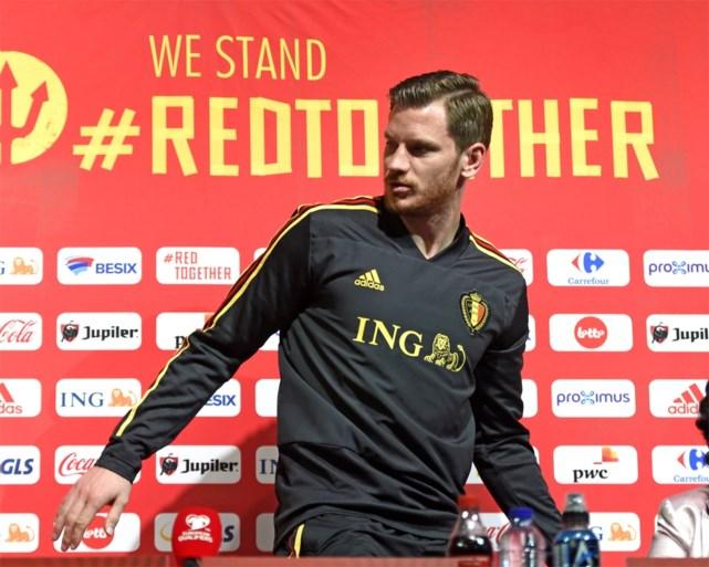 """Jan Vertonghen: """"Ik hoop dat er niemand anders meer afhaakt bij de nationale ploeg"""""""