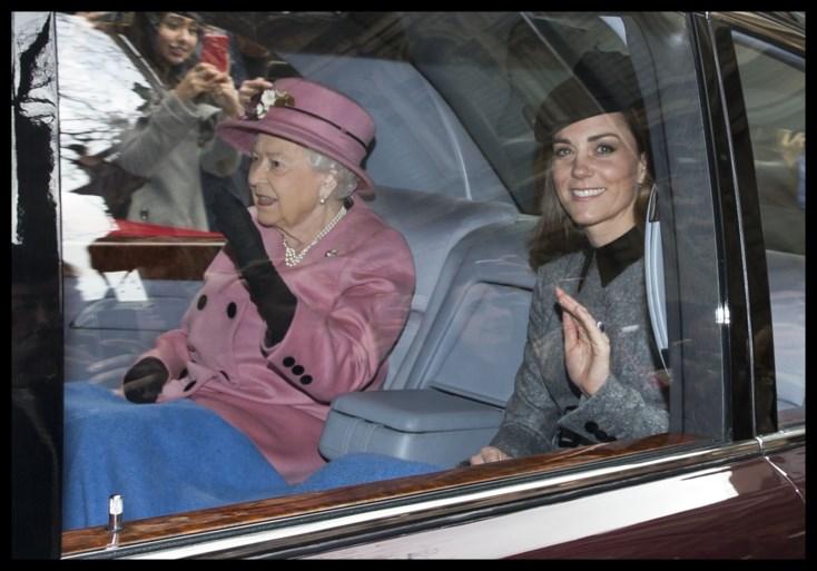 Kate Middleton en de Queen na zeven jaar nog eens samen op stap