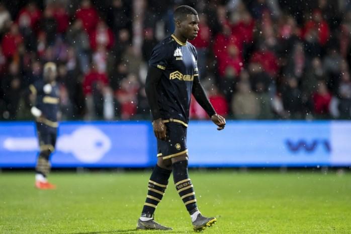 Antwerp kan dit seizoen niet meer rekenen op Aurélio Buta