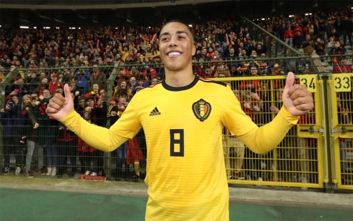 """REACTIES. Eden Hazard na Belgische zege tegen Rusland: """"Youri Tielemans gaat een grote worden"""""""