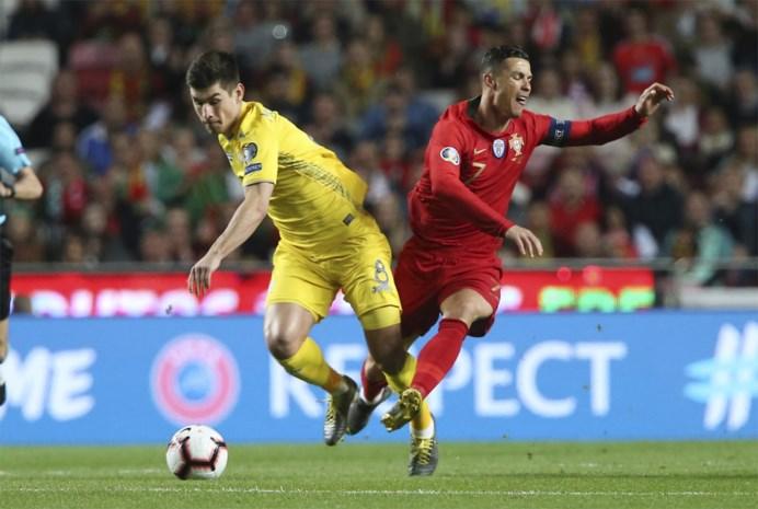 EK 2020: Luxemburg aan de leiding in groep met Portugal dat niet voorbij Oekraïne geraakt, Engeland en Frankrijk falen niet