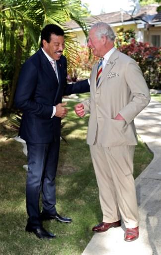 ROYALS. Prins Harry heeft er een belangrijke taak bij. En prins Charles brengt wereldster aan het lachen