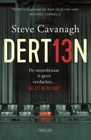 BOEK. Steve Cavanagh - Dertien