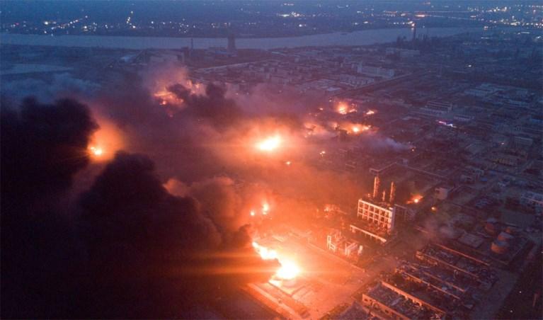 Zeker 64 doden na explosie in Chinees chemiebedrijf