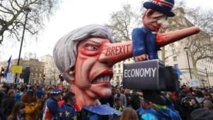 Miljoen mensen betoogt in Londen voor nieuw Brexit referendum