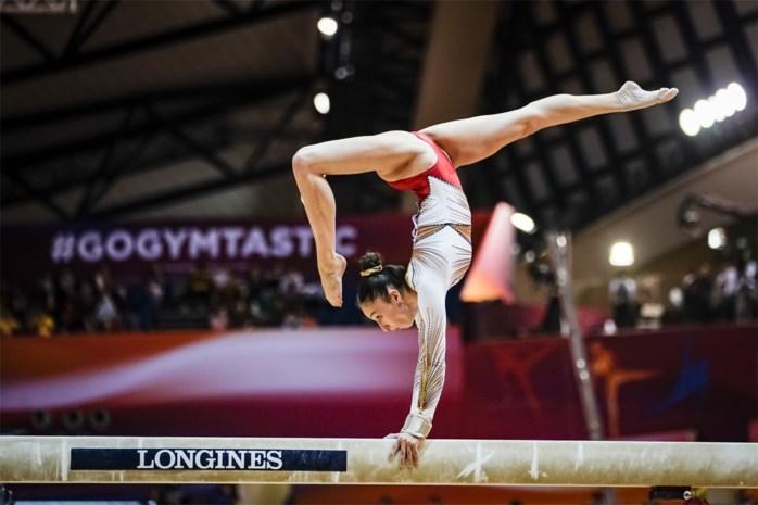 Nina Derwael ook de beste op de balk tijdens Wereldbeker turnen in Doha