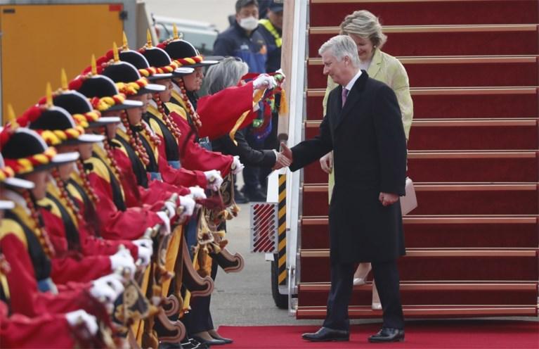 Koningspaar aangekomen in Seoel voor vierdaags bezoek aan Zuid-Korea