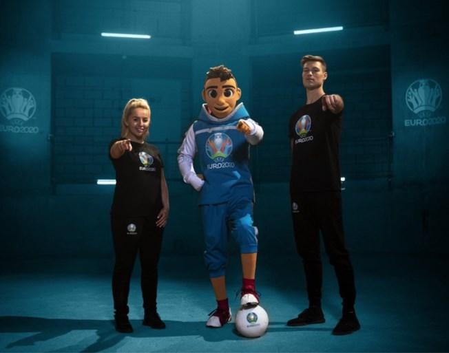 Mascotte van Euro 2020 officieel voorgesteld in Amsterdam