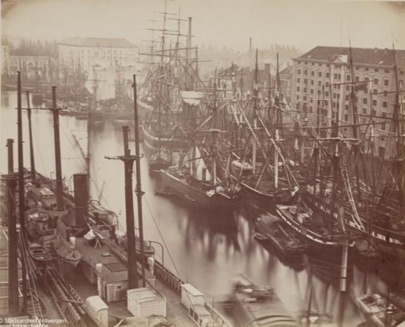 Unieke fotocollectie toont het Antwerpen van weleer